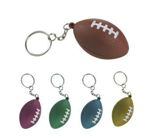 American Football Stress Reliever Keychain